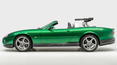 Petersen Automotive Museum - Jaguar XKR James Bond - side static