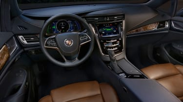 Cadillac ELR front interior