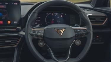 2021 Cupra Formentor steering wheel