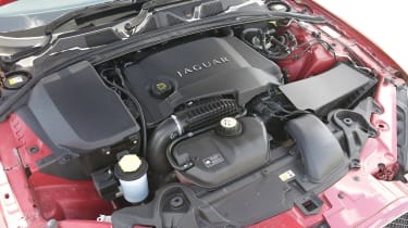 Used Jaguar XF - engine