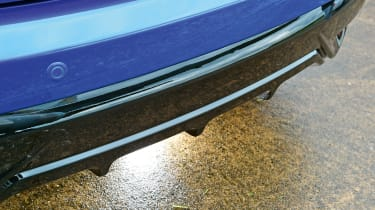 Honda Civic - rear diffuser