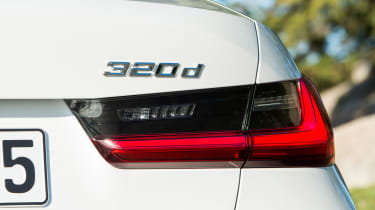 BMW 320d - 320d badge