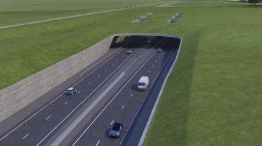 Stonehenge tunnel - tunnel exit proposal
