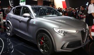 Alfa Romeo Stelvio NRING - Geneva front