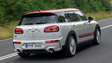 MINI Clubman JCW - rear action