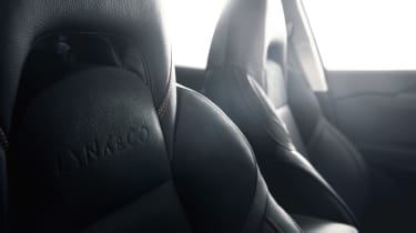 Lynk & Co 02 - seat detail