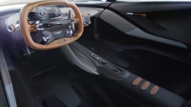 Aston Martin 003 concept - interior