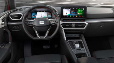 SEAT Leon - dashboard