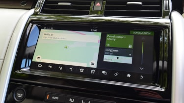 Land Rover Discovery TD6 - sat-nav