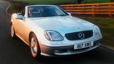 Best cars for under £3,000 - Mercedes SLK 200