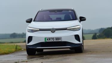 Volkswagen ID.4 - cornering
