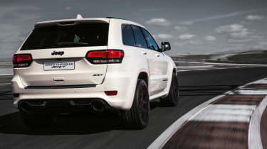 Grand Cherokee SRT - White Rear Profile