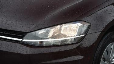 Volkswagen Golf 1.0 petrol - front light detail