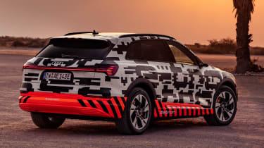 Audi e-tron Prototype review - rear 3/4 still