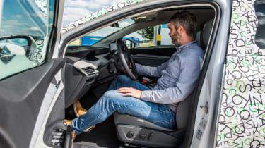 Skoda Enyaq iV coupe prototype - Richard Ingram