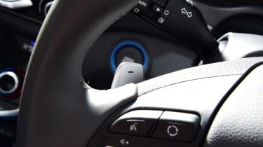 Hyundai Ioniq - steering wheel detail