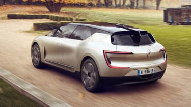 Renault Symbioz concept - rear action