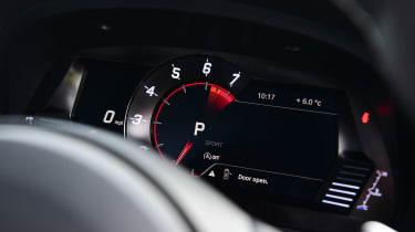 Toyota Supra 2.0 - dials