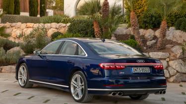 Audi S8 - rear static