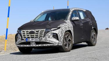 Hyundai Tucson spy - front