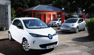 Renault Zoe vs rivals