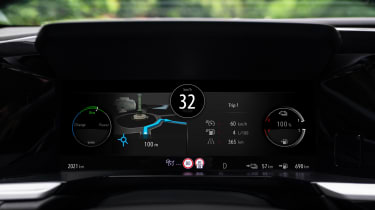 Vauxhall Grandland PHEV - dials