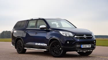 SsangYong Musso - front static