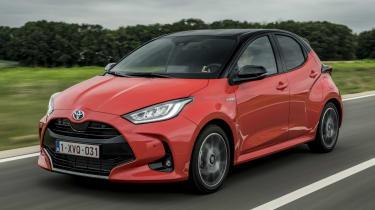Toyota Yaris driving image
