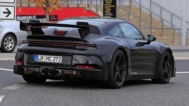 992 Porsche 911 GT3 - Spied
