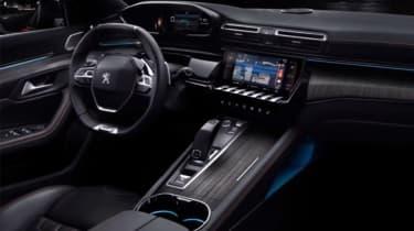 Peugeot 508 leaked - dash