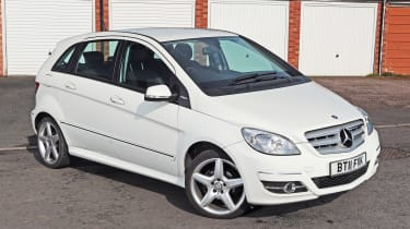 Used Mercedes B-Class - front static