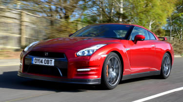 Revisions to the suspension have made the GT-R softer to drive in town.