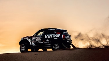 Dakar Rally - sunset