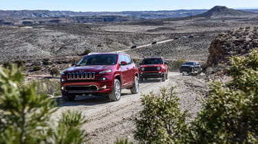 75 years of Jeep - Cherokee cornering