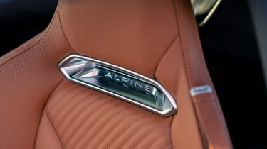 Alpine A110 Legende GT - seat detai
