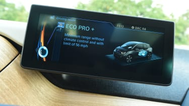 Long-term test review: BMW i3 REx screen 2