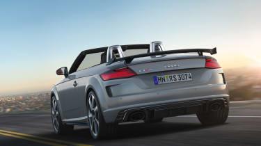 Audi TT RS Roadster - rear tracking