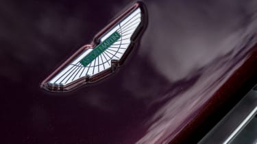 Aston Martin Rapide S 2014 badge