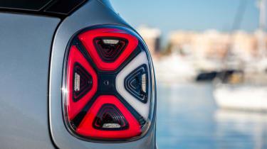 Smart EQ ForTwo - rear lights