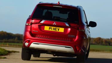 Mitsubishi Outlander PHEV - rear cornering