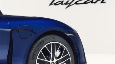 Porsche Taycan - side detail