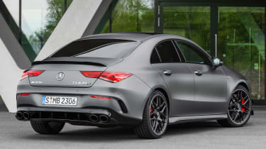 Mercedes-AMG CLA 45 - rear 3/4 static