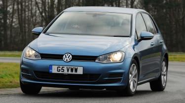 Volkswagen Golf 1.6 TDI SE front cornering