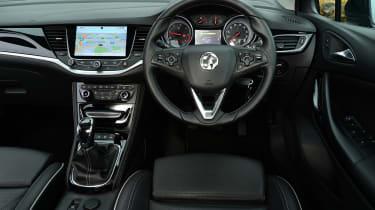Vauxhall Astra ST - dash