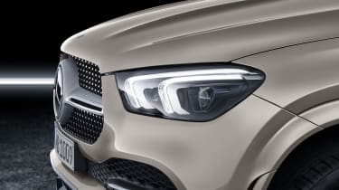 Mercedes GLE Coupe - headlight