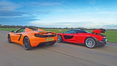 McLaren 12C Spider vs McLaren Senna - rear