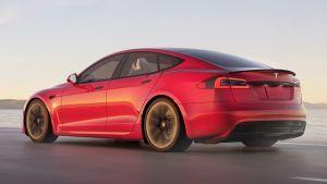 Tesla Model S facelift - rear