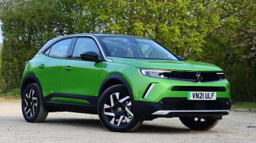 Vauxhall Mokka-e - front static