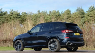 BMW X5 xDrive45e - rear static