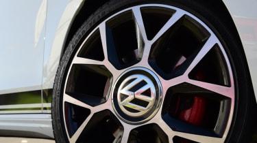 Volkswagen up! GTI alloy wheel